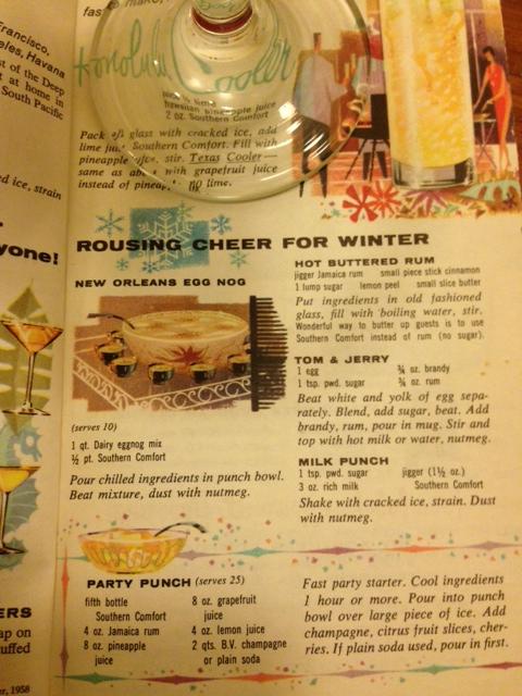 Xmas - cocktail recipe