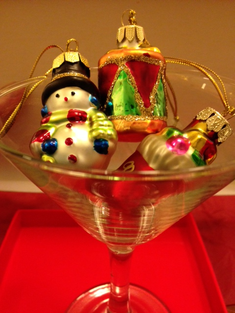 Xmas - decorations in glass